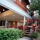 แต่งงานในสวน เรือนไทยบ้านมหาสวัสดิ์ ธีมเหนือ ล้านนา คุณหวาน งานเช้า