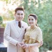 พิธีแต่งงานแบบไทย บ้านเรือนไทยจัดงานแต่ง คุณโอ๋ & คุณบอม