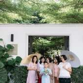 คุณเน & คุณฟิล์ม  ธีมงานแต่งงานในสวนสวย ๆ @ บ้านมหาสวัสดิ์ (2)